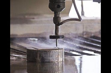 Ang CNC Water Jet Cutting CNC Waterjet Cutting Machine alang sa pagputol sa Steel - Granite - Plastik